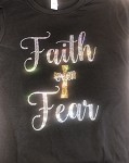Faith over Fear in Bling!