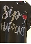 Sip Happens Bling!